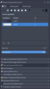 Shortcuts listed in toolbox dialog titles